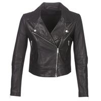 衣服 女士 皮夹克/ 人造皮革夹克 Ikks BM48145-02 黑色
