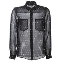 衣服 女士 衬衣/长袖衬衫 Ikks BP12165-02 黑色