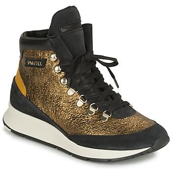 鞋子 女士 球鞋基本款 PHILIPPE MODEL MONTECARLO 金色 / 黑色