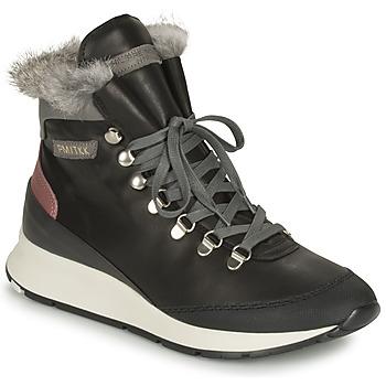 鞋子 女士 球鞋基本款 PHILIPPE MODEL MONTECARLO 黑色