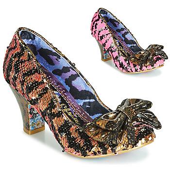 鞋子 女士 高跟鞋 Irregular Choice LADY BANJOE 黑色 / 金色