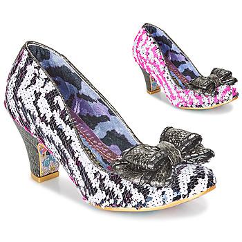 鞋子 女士 高跟鞋 Irregular Choice LADY BANJOE 白色 / 黑色