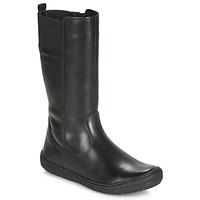 鞋子 女孩 都市靴 Geox 健樂士 J HADRIEL GIRL 黑色