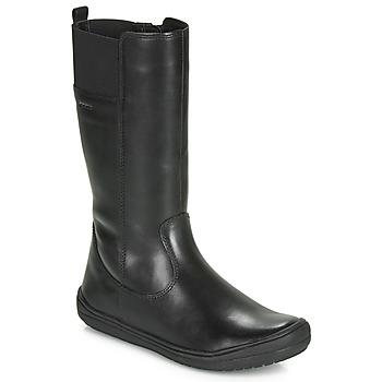 鞋子 女孩 都市靴 Geox 健乐士 J HADRIEL GIRL 黑色
