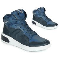 鞋子 男孩 高帮鞋 Geox 健乐士 J XLED BOY 蓝色 / Led