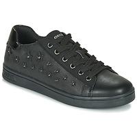 鞋子 女孩 球鞋基本款 Geox 健樂士 J DJROCK GIRL 黑色