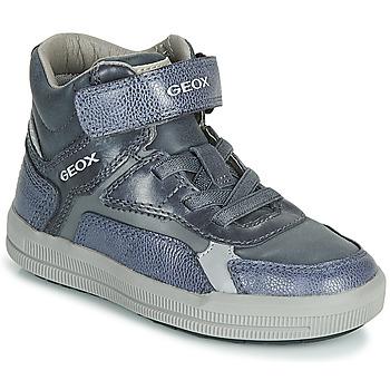 鞋子 男孩 高帮鞋 Geox 健乐士 J ARZACH BOY 蓝色 / 灰色