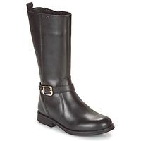 鞋子 女孩 球鞋基本款 Geox 健乐士 JR AGATA 黑色