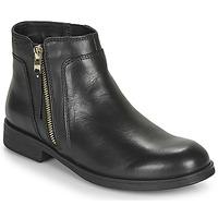 鞋子 女孩 短筒靴 Geox 健樂士 JR AGATA 黑色
