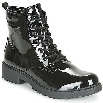 鞋子 女孩 短筒靴 Geox 健樂士 J CASEY GIRL 黑色