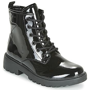 鞋子 女孩 短筒靴 Geox 健乐士 J CASEY GIRL 黑色