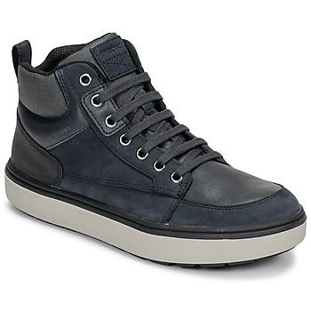 鞋子 男孩 高帮鞋 Geox 健乐士 J MATTIAS B BOY ABX 蓝色 / 黑色