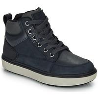 鞋子 男孩 高幫鞋 Geox 健樂士 J MATTIAS B BOY ABX 藍色 / 黑色 / Waterproof