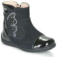 鞋子 女孩 都市靴 Geox 健乐士 B KAYTAN 黑色