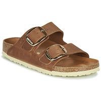 鞋子 女士 休闲凉拖/沙滩鞋 Birkenstock 勃肯 ARIZONA BIG BUCKLE 棕色