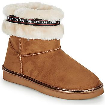 鞋子 女士 短筒靴 Les P'tites Bombes KITY 驼色