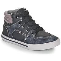 鞋子 男孩 高帮鞋 Chicco CAMILLO 蓝色 / 灰色