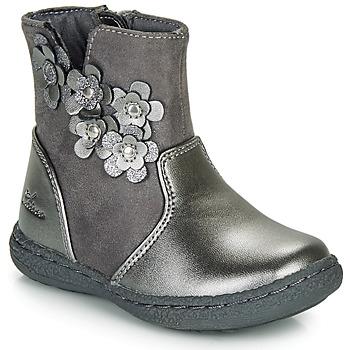 鞋子 女孩 都市靴 Chicco CINEY 灰色