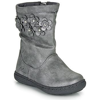 鞋子 女孩 都市靴 Chicco CLEDIA 灰色