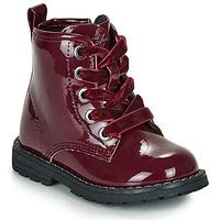 鞋子 女孩 短筒靴 Chicco COLLES 波尔多红