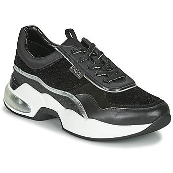 鞋子 女士 球鞋基本款 KARL LAGERFELD VENTURA LAZARE VELVET LACE 黑色