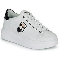 鞋子 女士 球鞋基本款 KARL LAGERFELD KAPRI KARL IKONIC LO LACE 白色 / 黑色