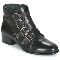 鞋子 女士 短筒靴 Metamorf'Ose FAMO 黑色
