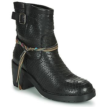 鞋子 女士 短靴 Felmini NAHA 黑色
