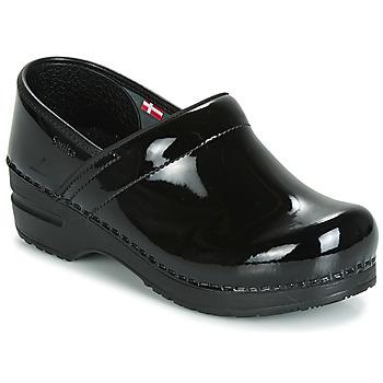 鞋子 女士 洞洞鞋/圓頭拖鞋 Sanita PROF 黑色