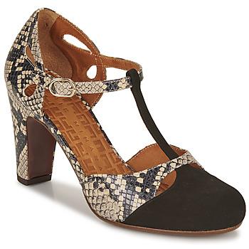 鞋子 女士 高跟鞋 Chie Mihara KUNA 黑色 / 米色