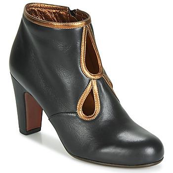 鞋子 女士 短靴 Chie Mihara KOSPI 黑色 / 金色