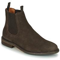 鞋子 男士 短筒靴 Schmoove PILOT-CHELSEA 棕色