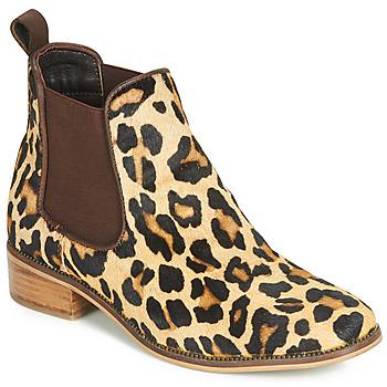 鞋子 女士 短筒靴 Ravel GISBORNE Leopard