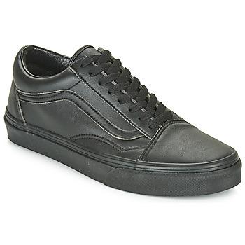 鞋子 球鞋基本款 Vans 范斯 OLD SKOOL 黑色