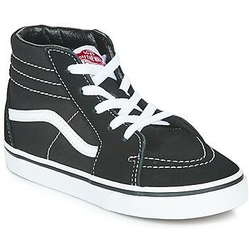 鞋子 儿童 高帮鞋 Vans 范斯 TD SK8-HI 黑色 / 白色