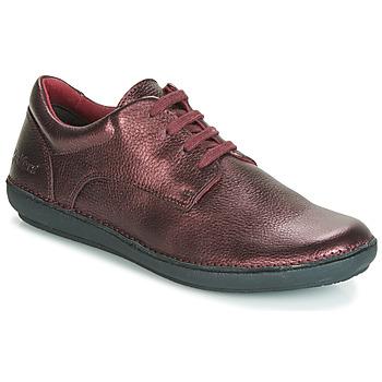 鞋子 女士 德比 Kickers FOWFO 紫罗兰