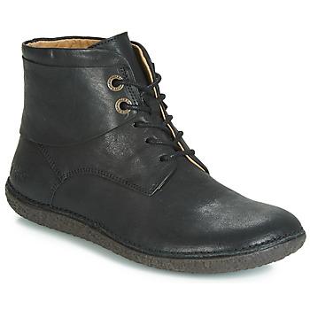 鞋子 女士 短筒靴 Kickers HOBBYTWO 黑色