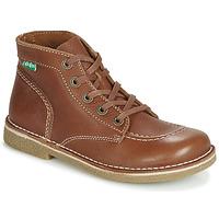 鞋子 女士 短筒靴 Kickers LEGENDIKNEW 驼色