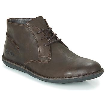鞋子 男士 短筒靴 Kickers SWIBO 棕色
