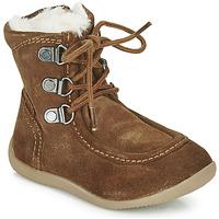 鞋子 儿童 都市靴 Kickers BAMARA 驼色