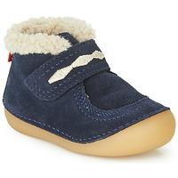 鞋子 儿童 短筒靴 Kickers SOETNIC 海蓝色