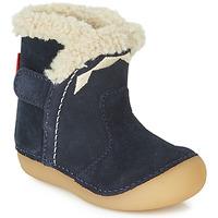 鞋子 儿童 都市靴 Kickers SOFUR 海蓝色