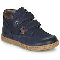 鞋子 男孩 短筒靴 Kickers TACKEASY 海蓝色