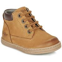 鞋子 男孩 短筒靴 Kickers TACKLAND 驼色 / 棕色