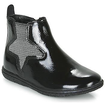 鞋子 女孩 短筒靴 Kickers VERMILLON 黑色