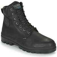 鞋子 男士 短筒靴 Palladium 帕拉丁 PALLABOSSE SC WP 黑色