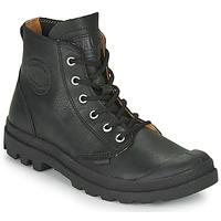 鞋子 短筒靴 Palladium 帕拉丁 PAMPA HI LTH UL 黑色