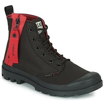 鞋子 女士 短筒靴 Palladium 帕拉丁 PAMPA UNZIPPED 黑色