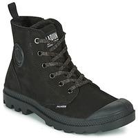鞋子 女士 短筒靴 Palladium 帕拉丁 PAMPA HI ZIP WL 黑色