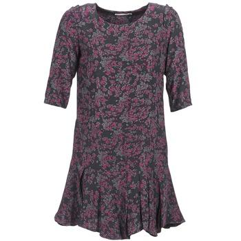 衣服 女士 短裙 See U Soon BOETICO 黑色 / 紫罗兰